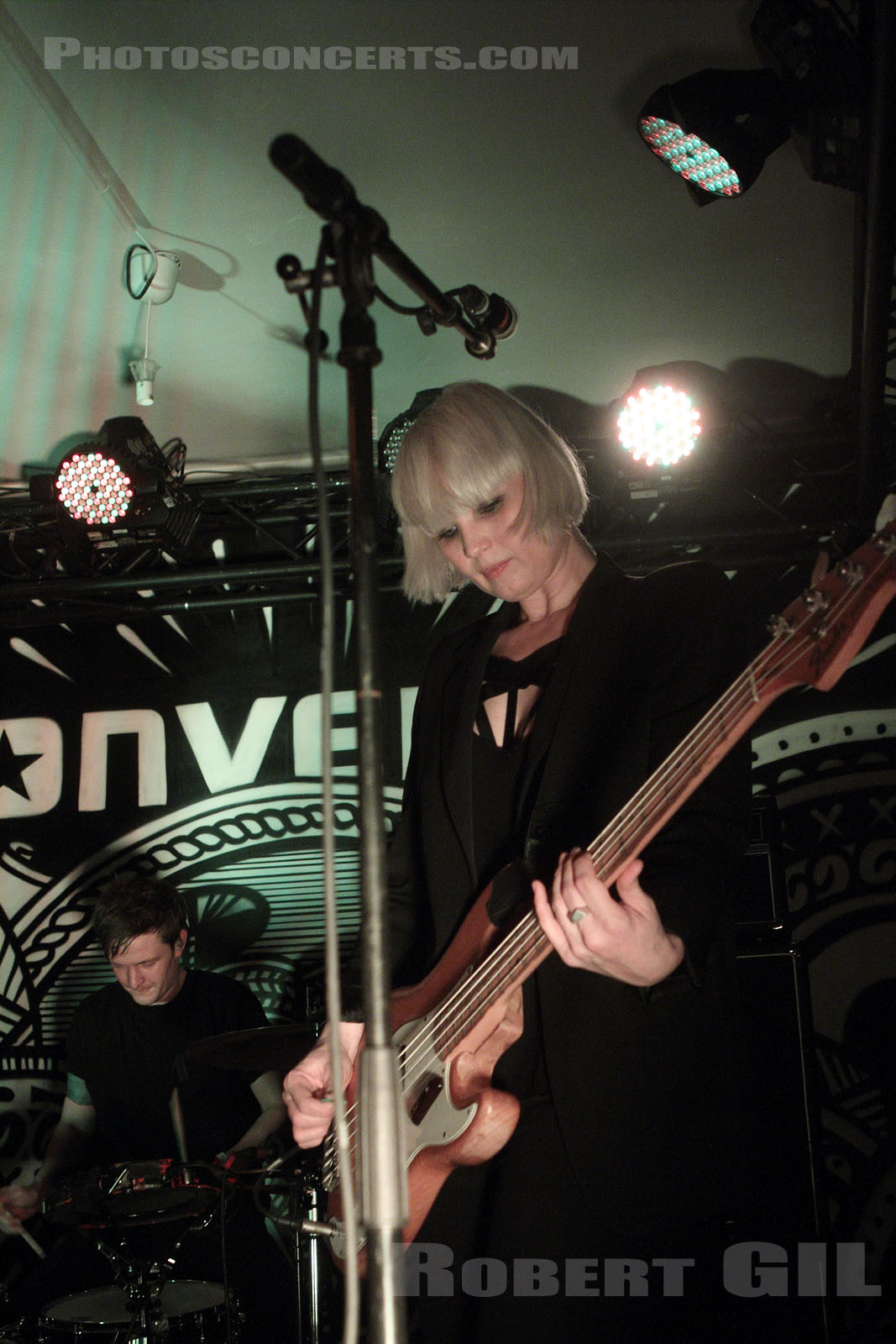 THE RAVEONETTES - 2013-03-19 - PARIS - Converse-19YT
